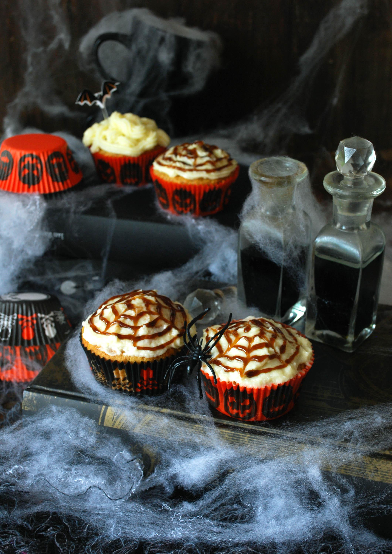Muffins de otoño para Halloween