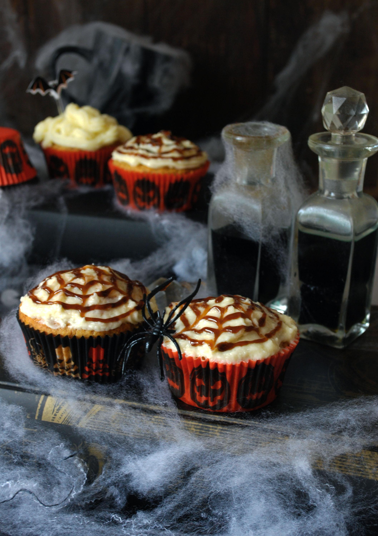Muffins de manzana para Halloween