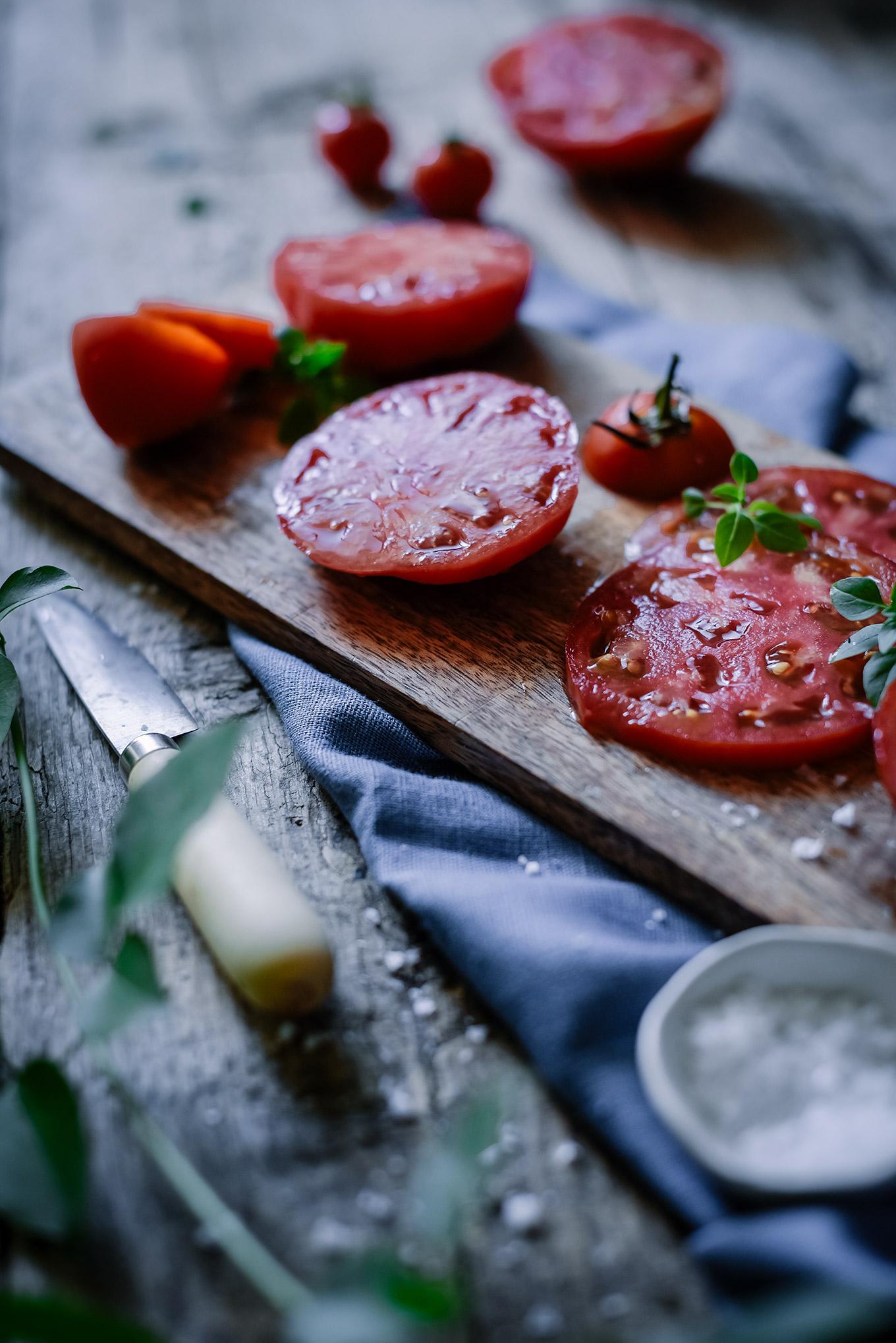 Tomates de temporada-Sabores y Momentos