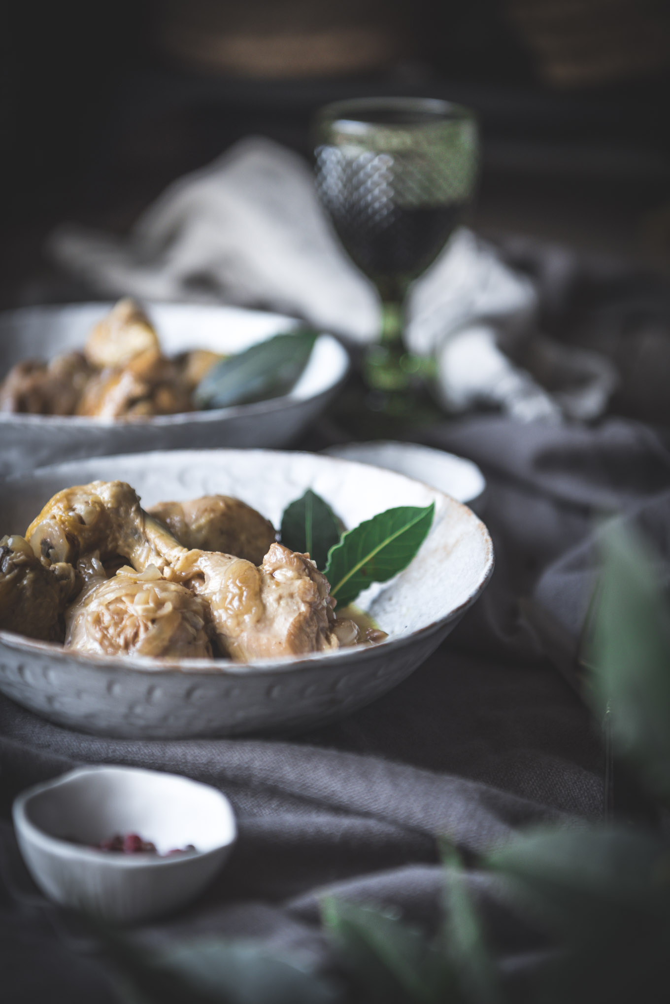 Pollo guisado delicioso