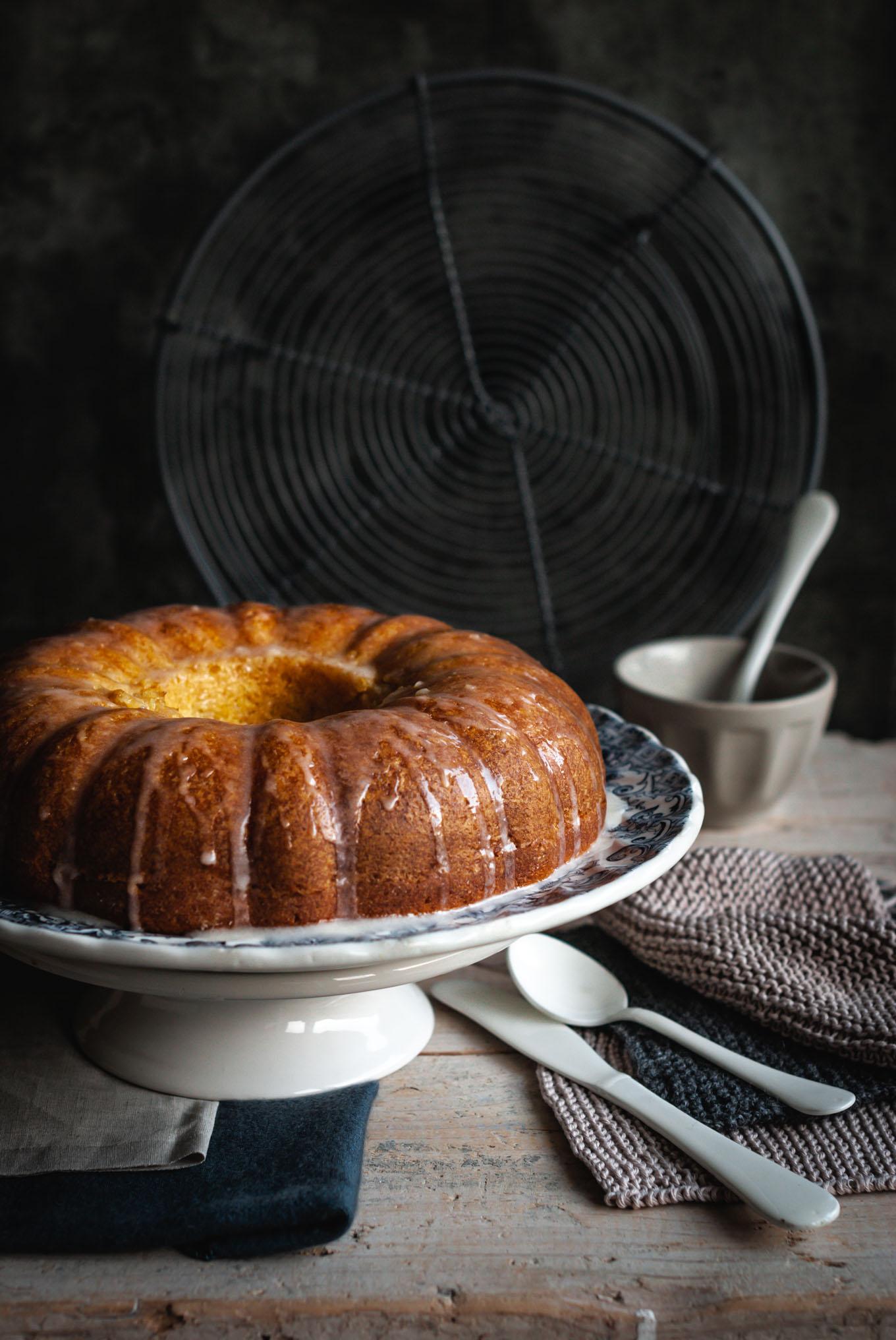 receta del bizcocho de vainilla y ron