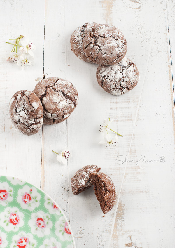 Galletas Chocolate Crinkles