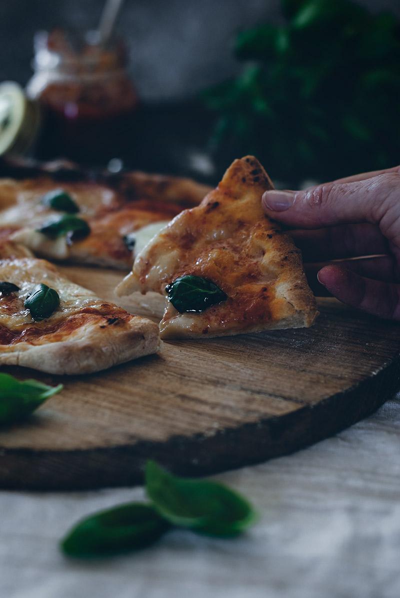 Receta masa Pizza sin amasado