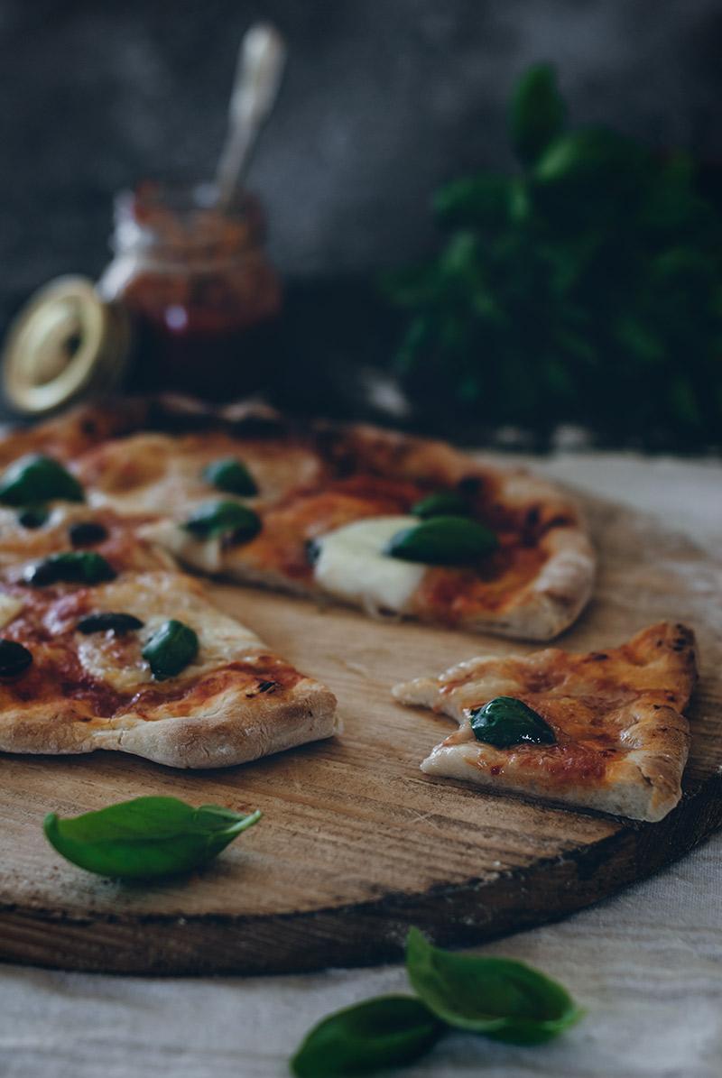 Pizza Margarita - Patry Sabores y Momentos