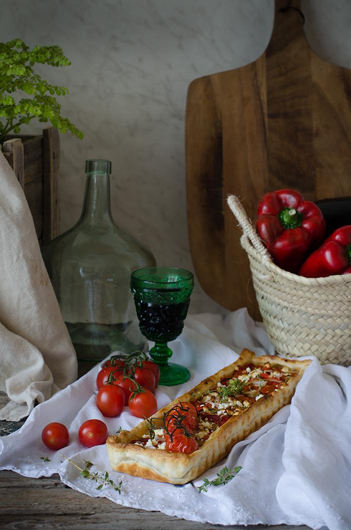 Hojaldre-pimientos-y-berenjenas-asadas