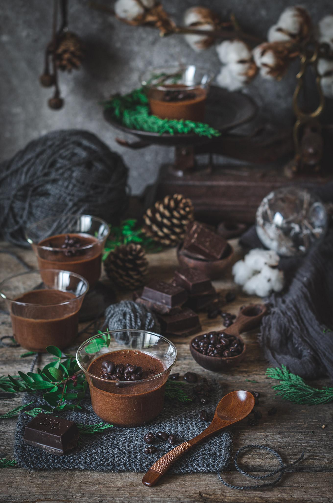Mousse de chocolate -receta fácil