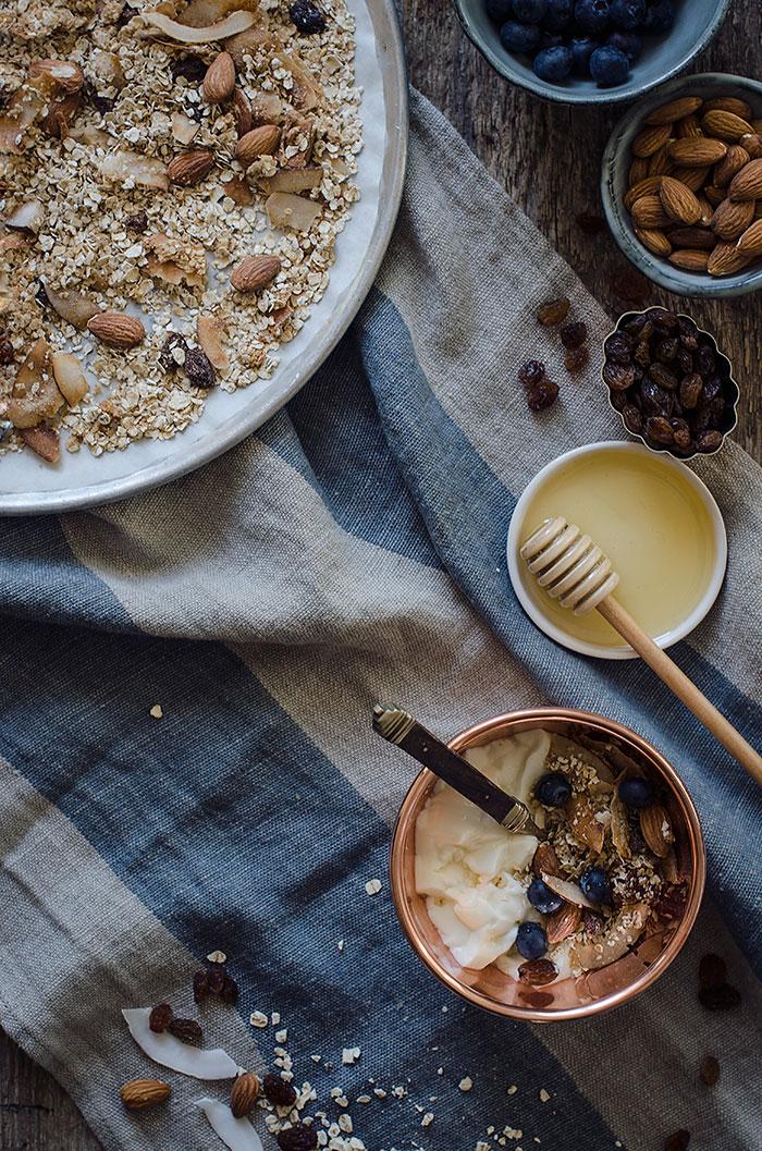 Granola-y-yogur