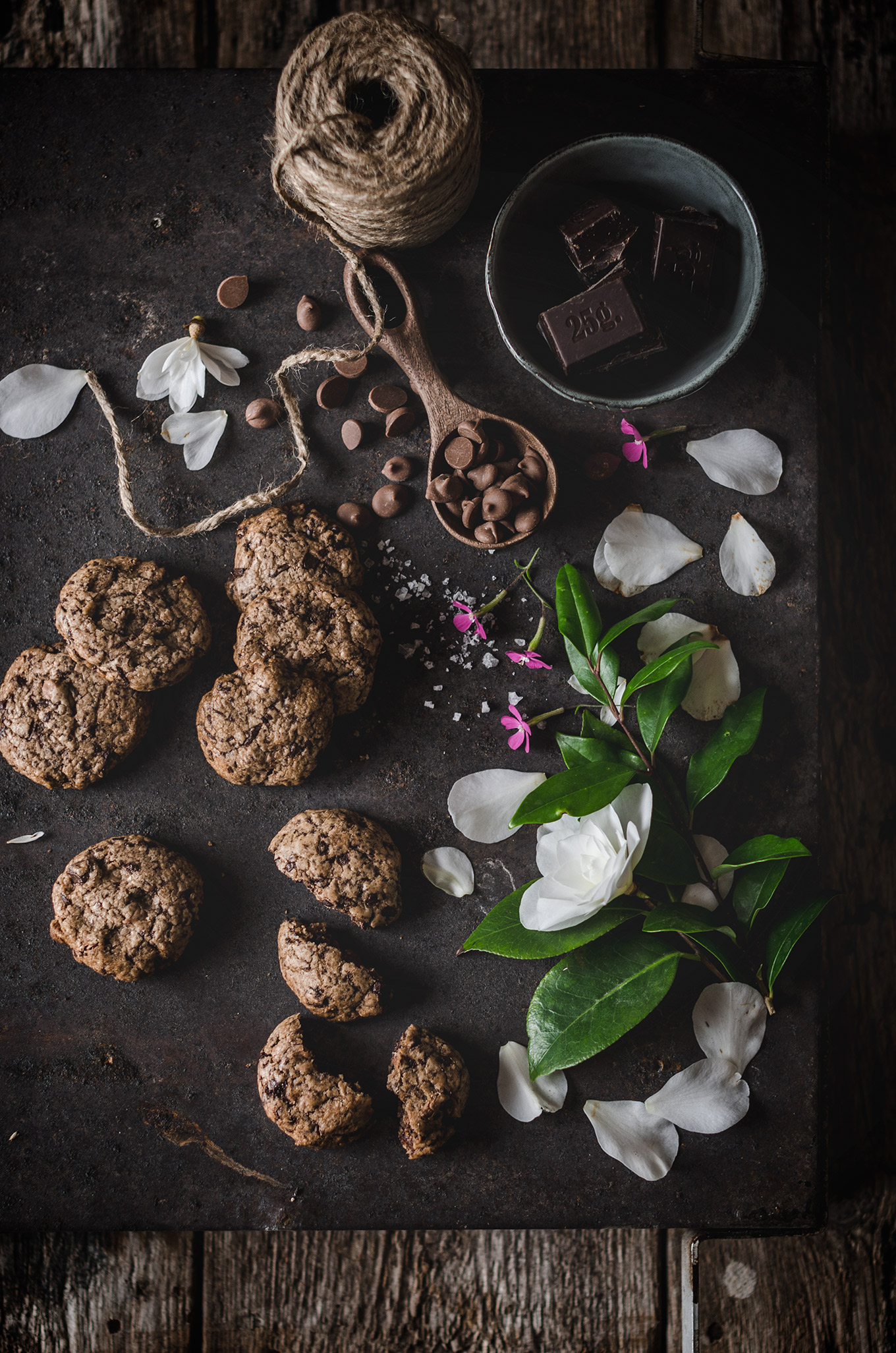 Receta de cookies de chocolate - Patry Garcia
