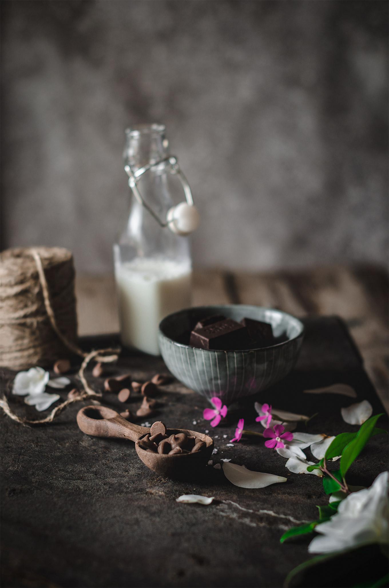 Chocolate para receta cookies