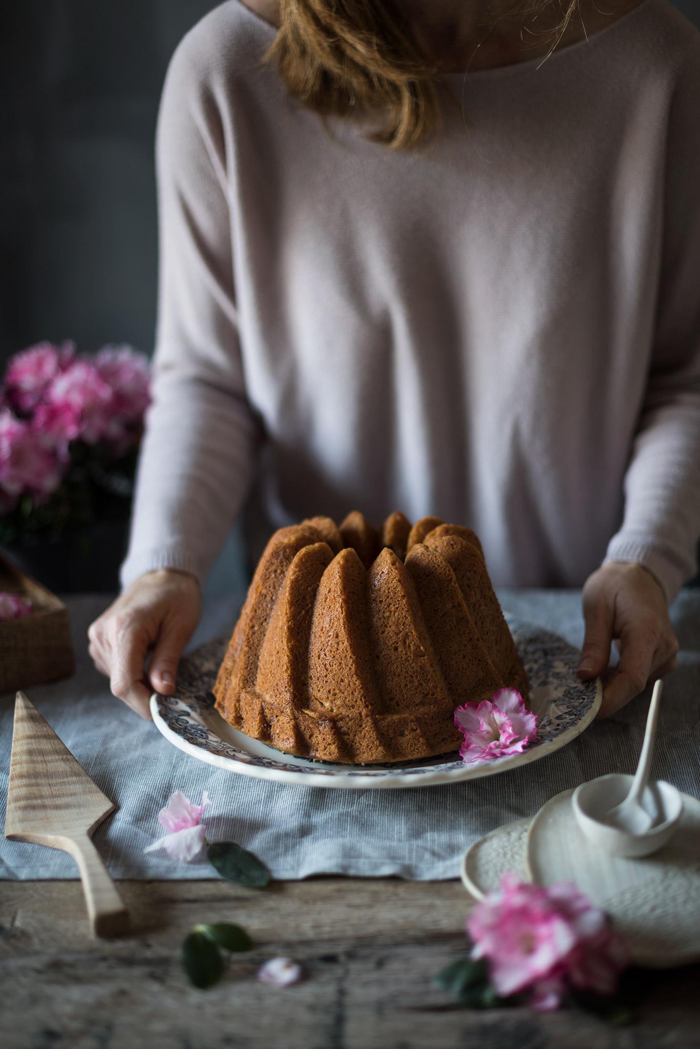 Receta de Bundt Cake de Platano