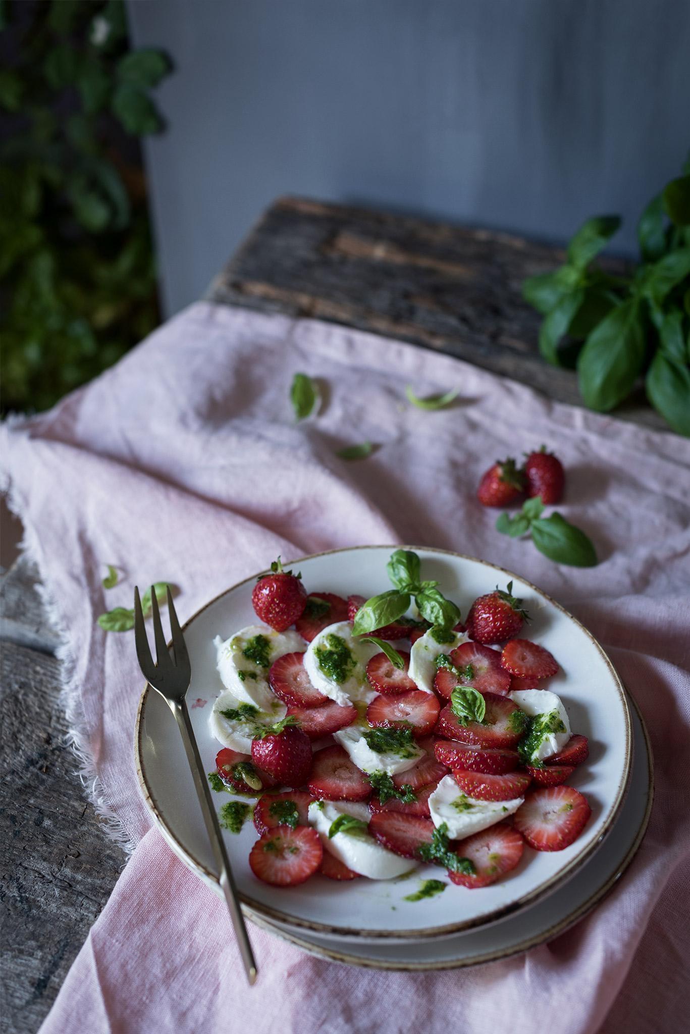 receta facil ensalada de frutas y queso