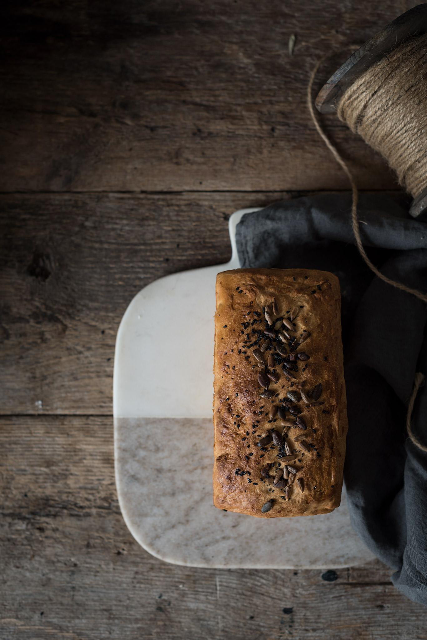 Receta paso a paso pan de molde casero