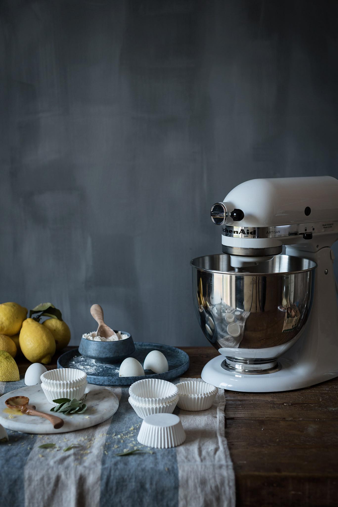 Herramientas para hacer la crema de limón