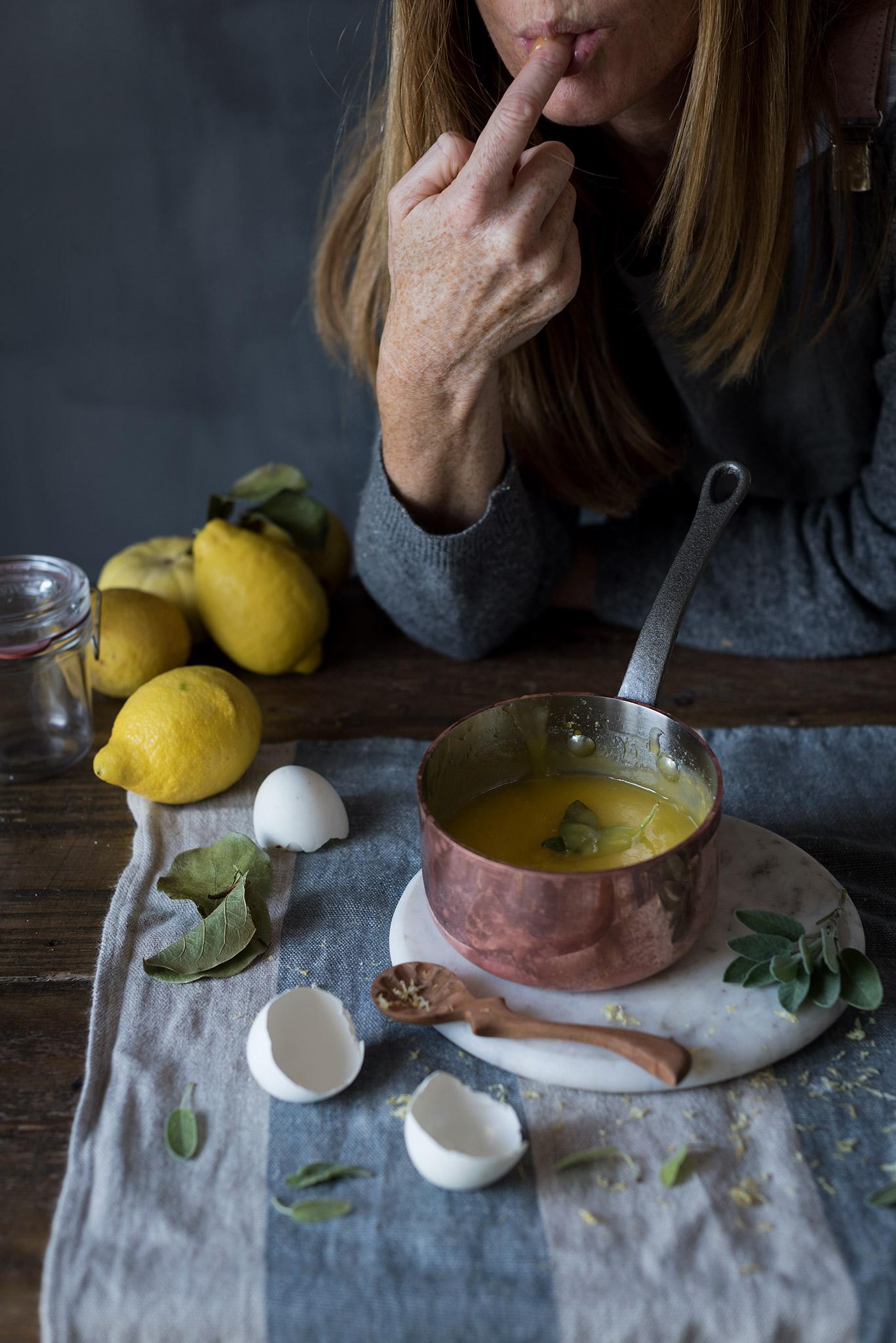 Como hacer la crema de limón