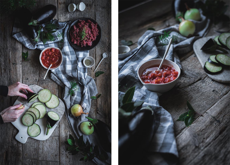 ingredientes para la musaka