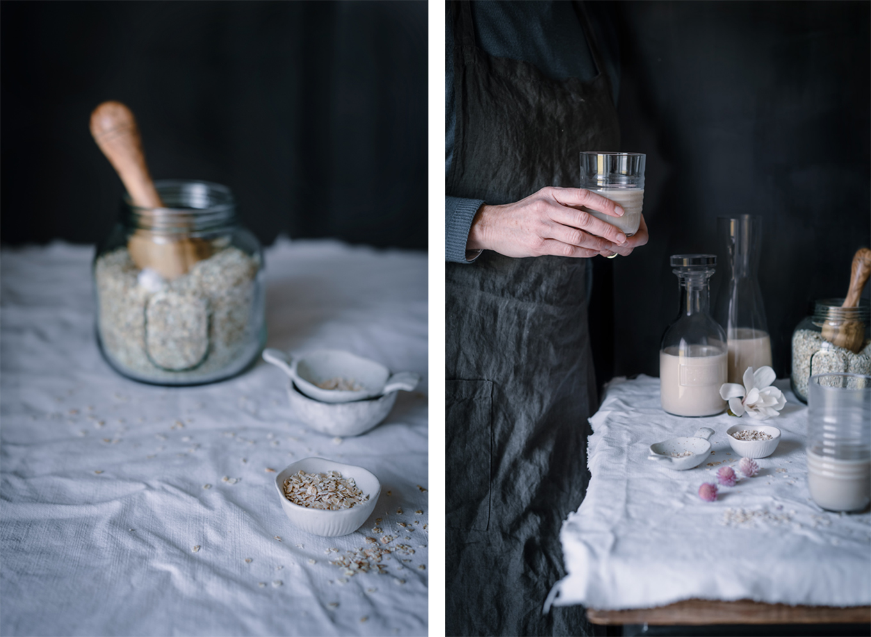 como preparar leche de avena