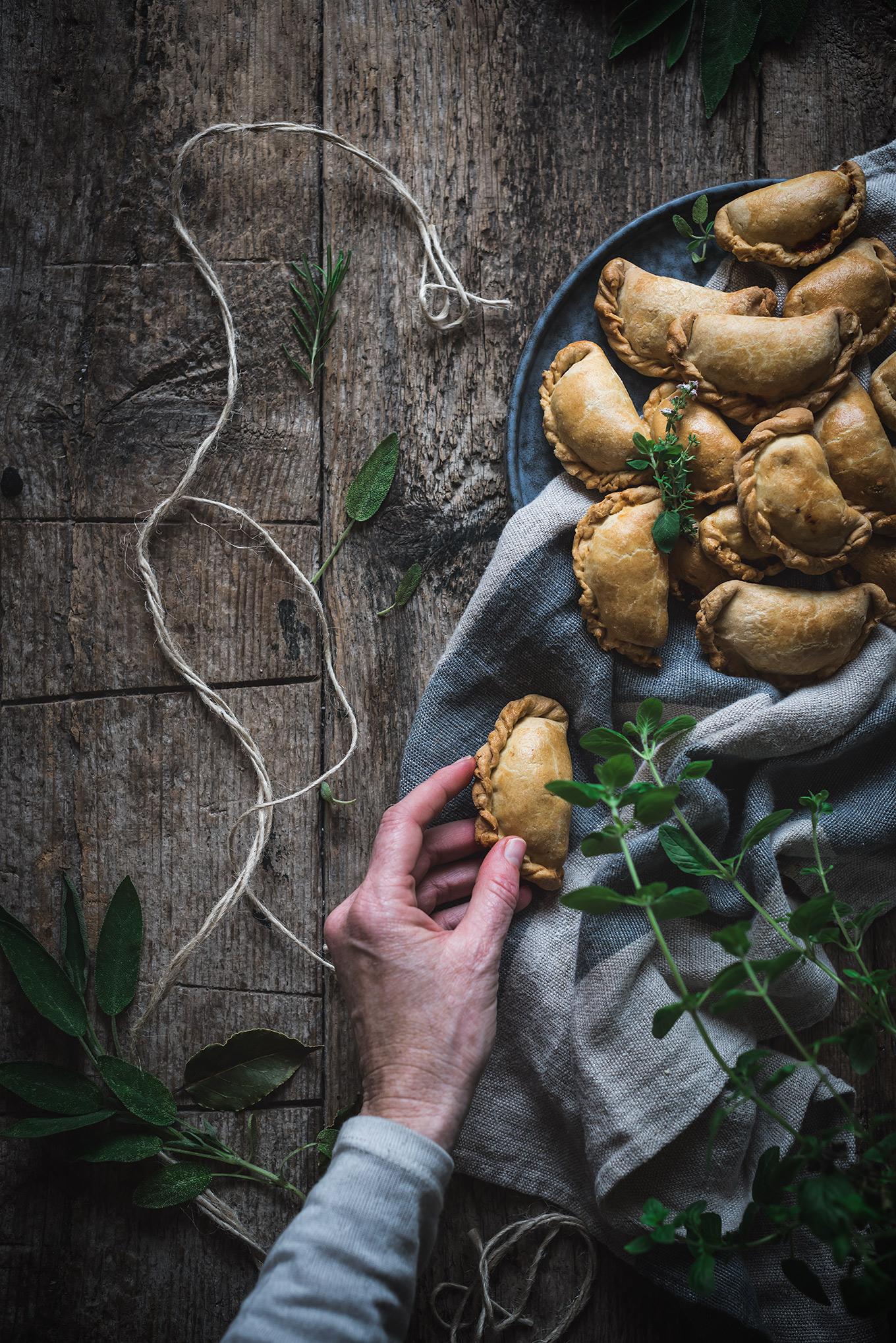 Empanadillas caseras deliciosas