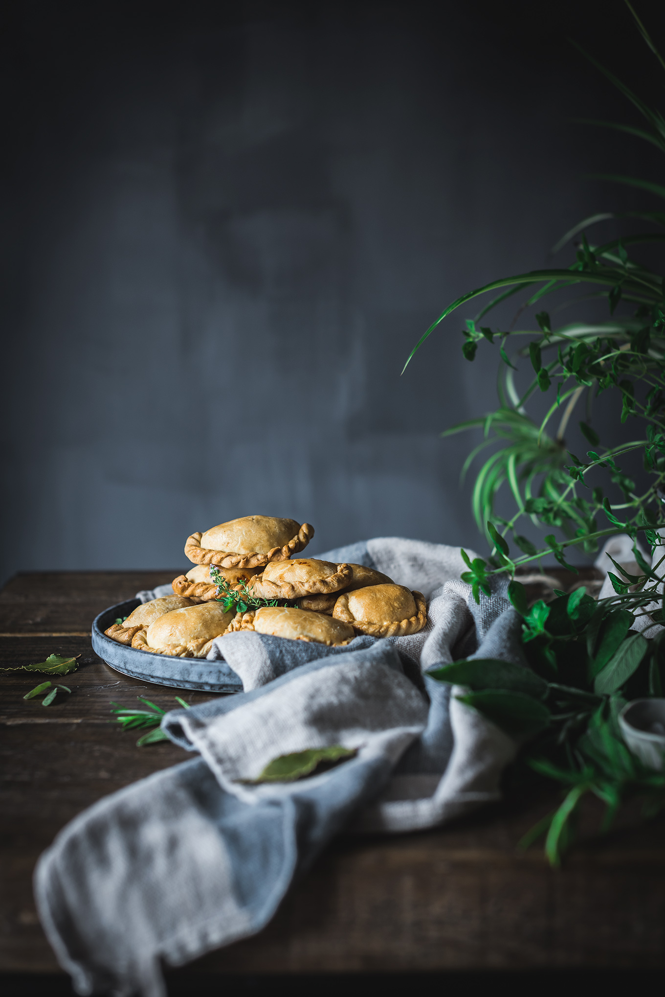 Empanadillas de pollo caseras