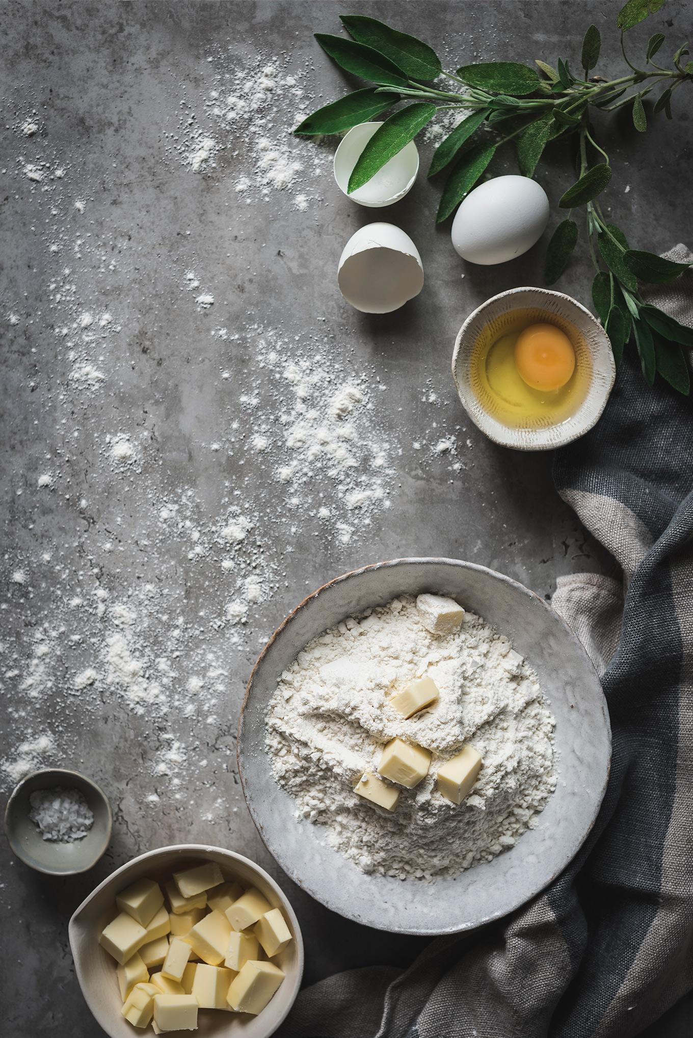 Ingredientes para masa empanadillas