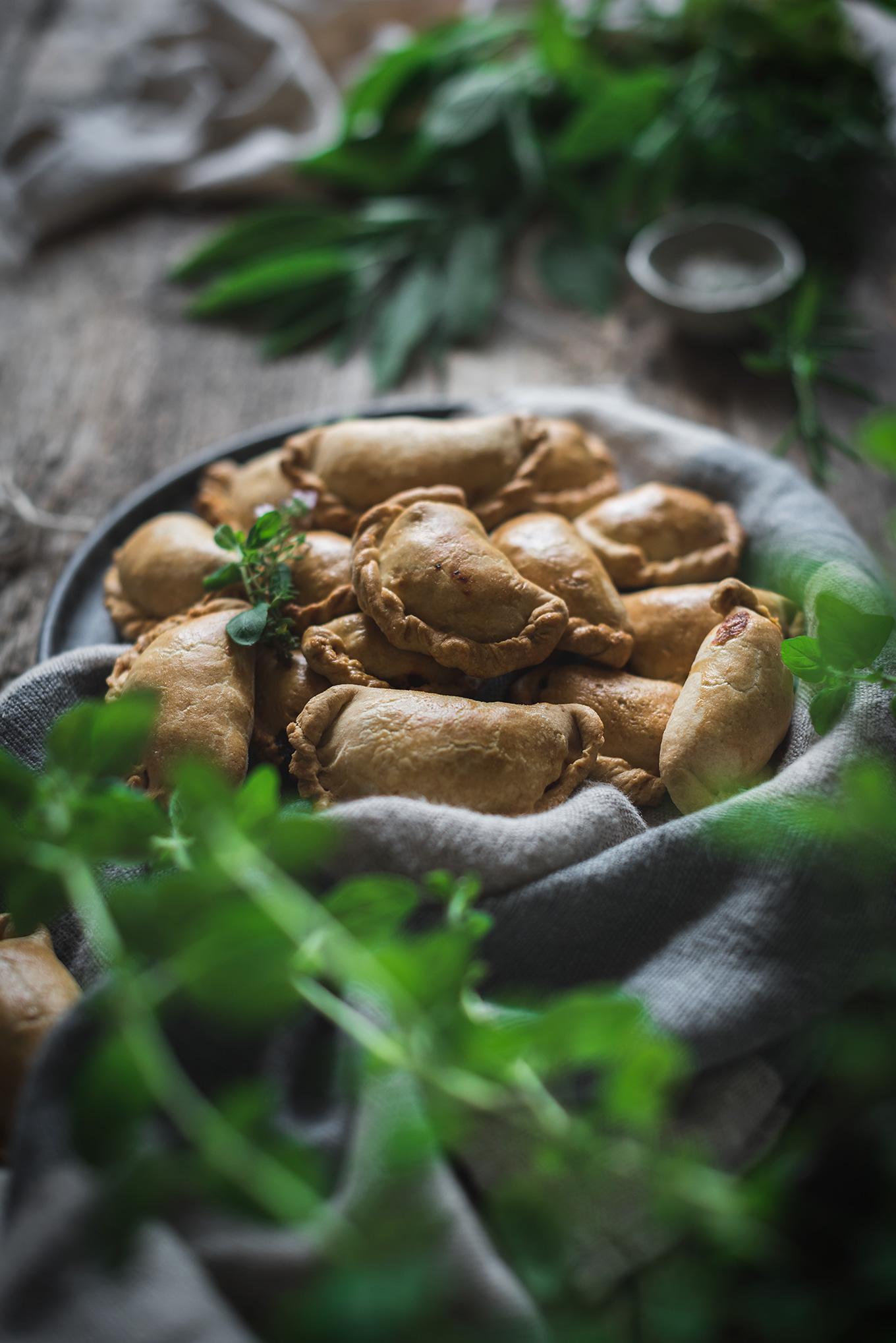 Receta empanadillas de pollo