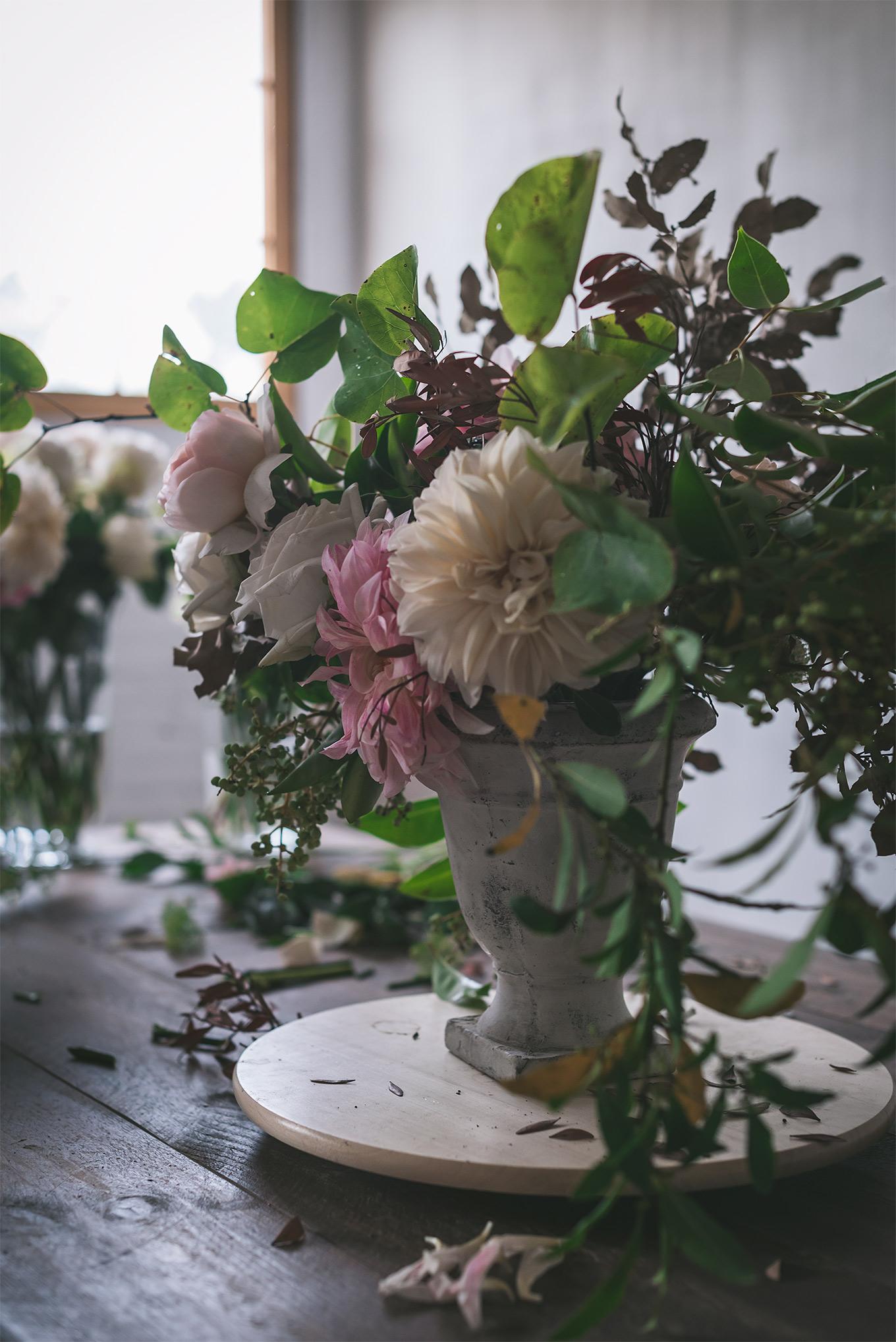 Centro flores- Patry Garcia