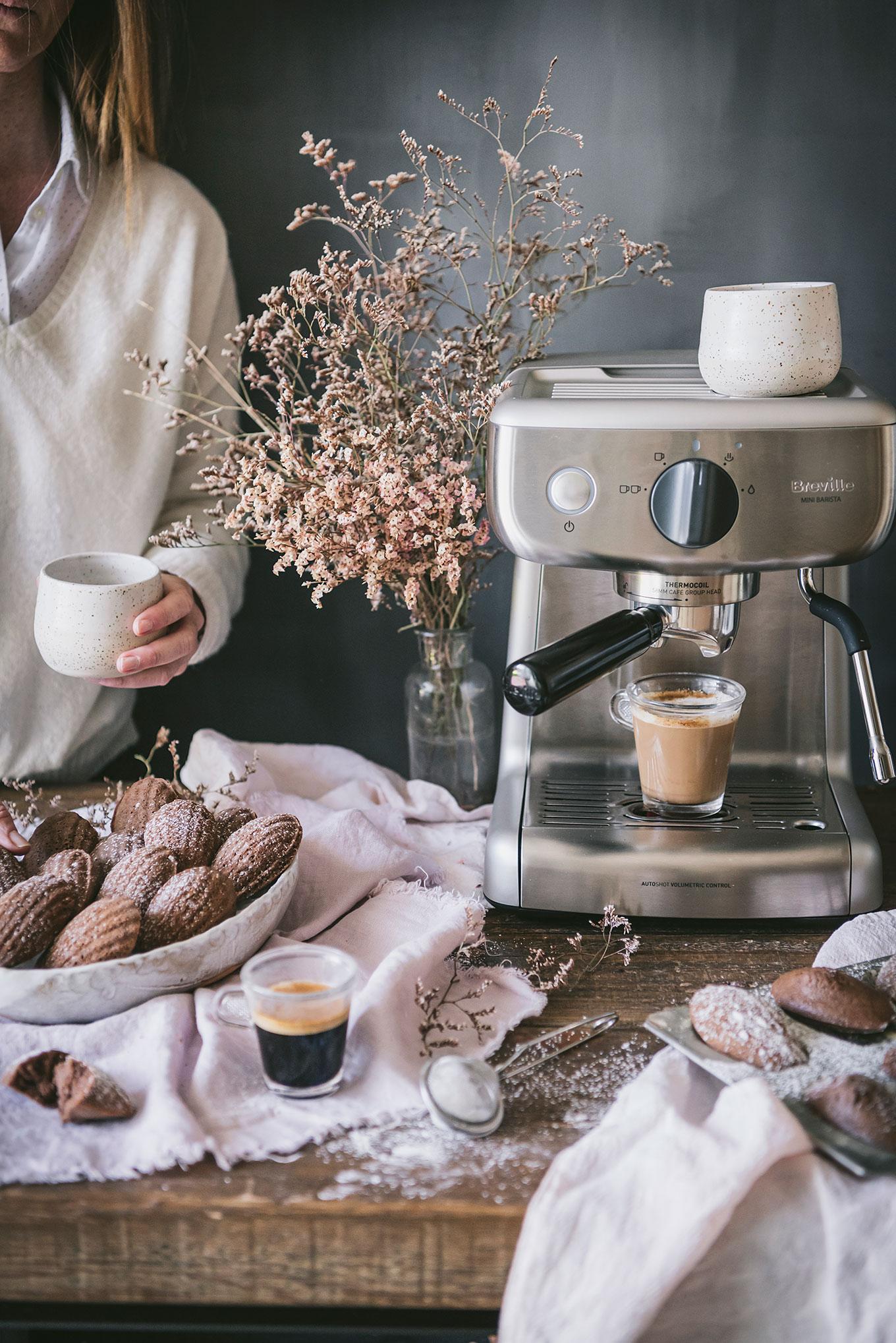 Magdalenas de café