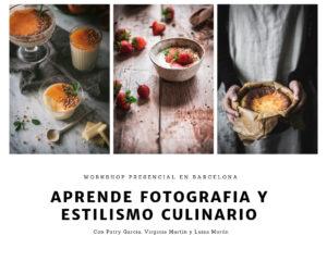 Aprende fotografia y estilismo culinario