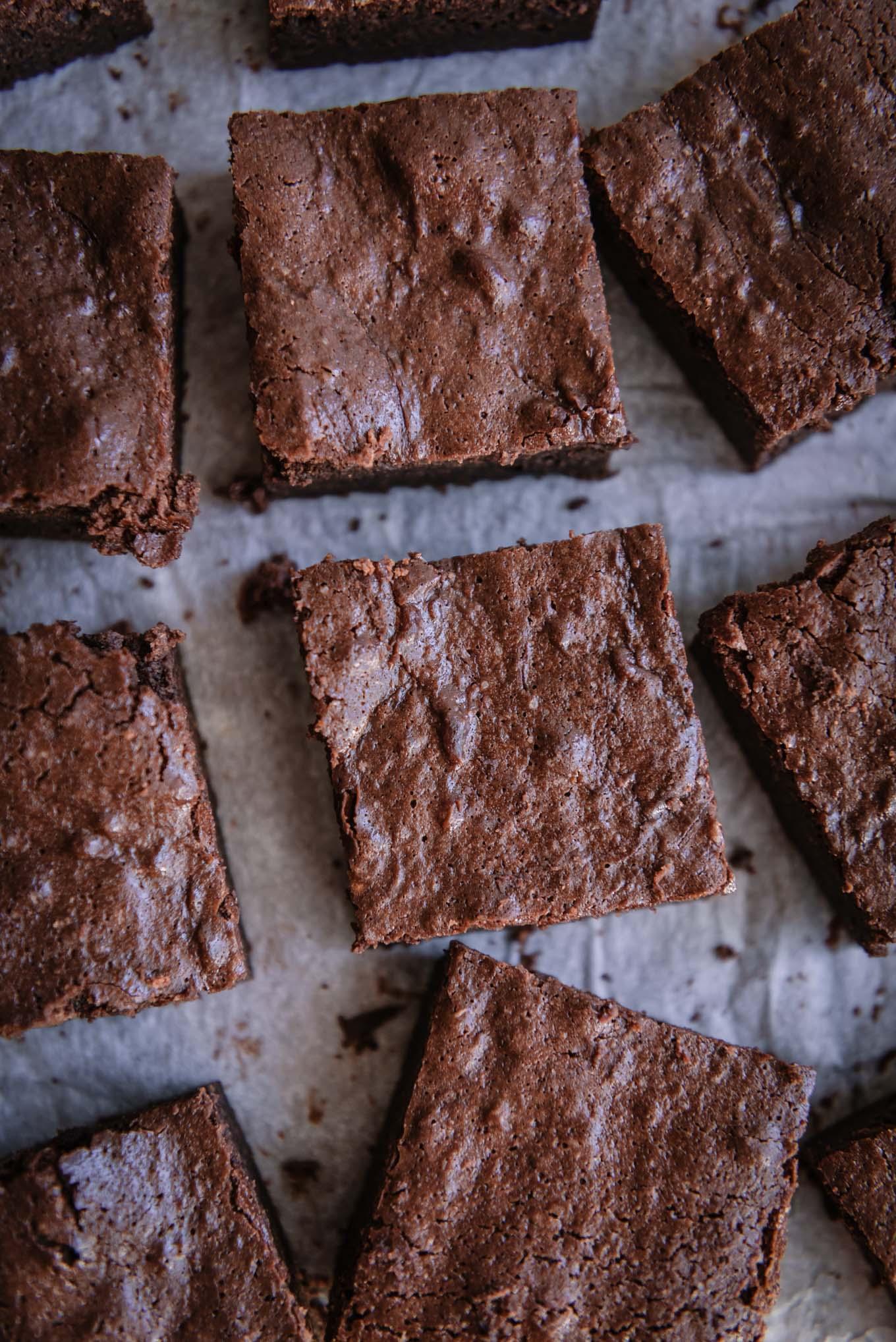Receta fácil del brownie perfecto