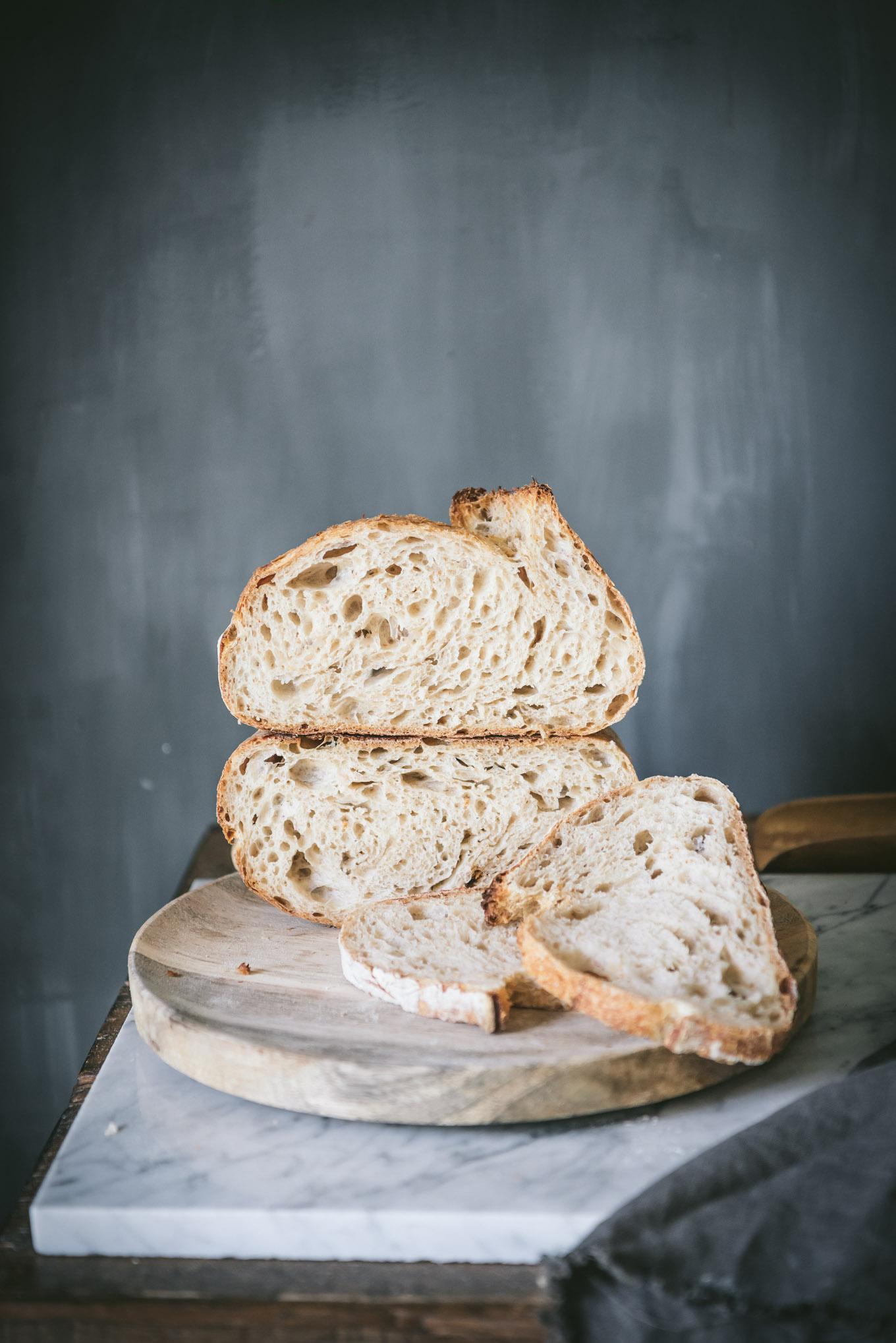 Receta pan masa madre paso a paso