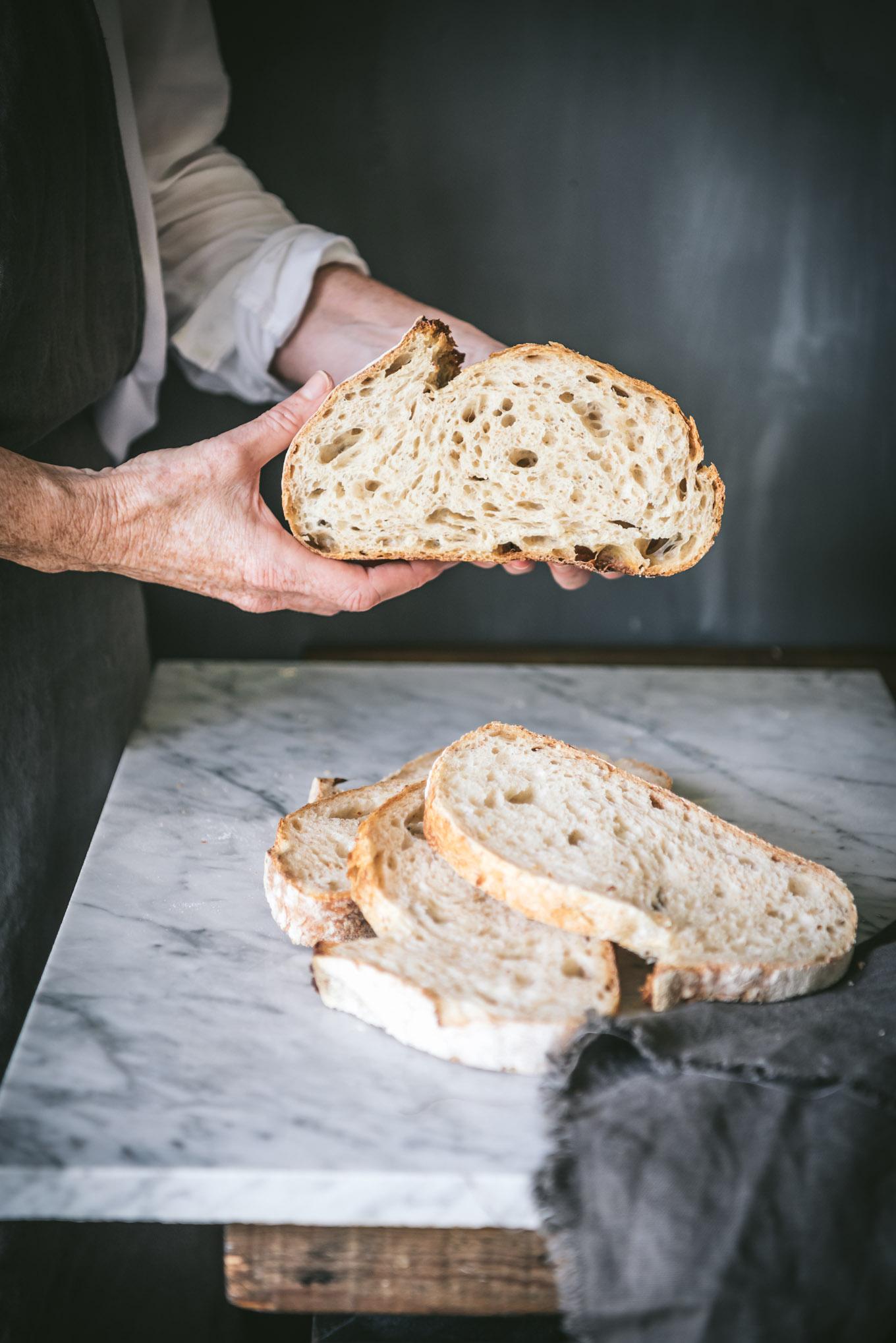 Como elaborar un pan con masa madre paso a paso